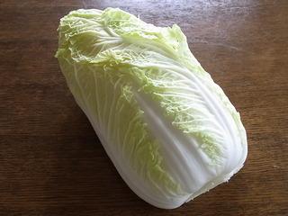 ゆずの香りを添えた白菜の煮物で師走をいただく