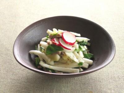 白菜とクレソンのマスタードサラダ
